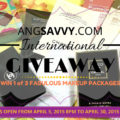 Ang Savvy International Makeup Giveaway April 2015