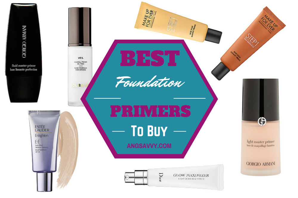 Best Foundation Primers To Buy