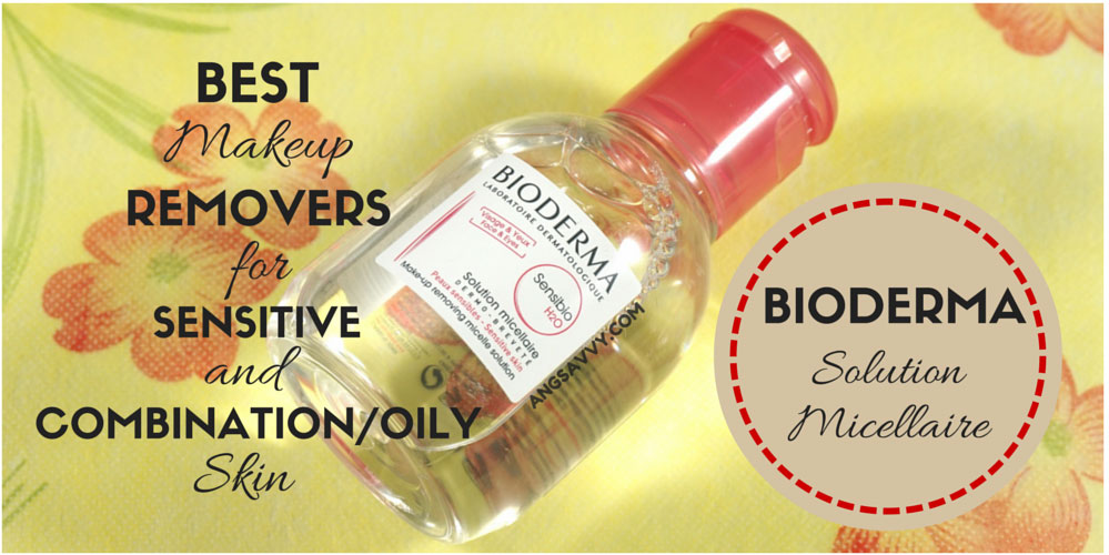 Best Makeup Removers: Bioderma H20