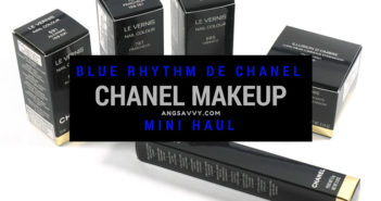Blue Rhythm de Chanel Makeup Haul