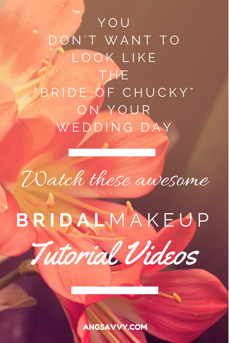 Bridal Makeup Tutorial Videos