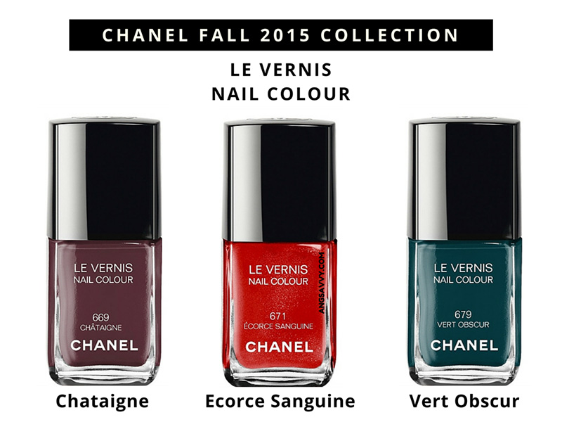 Chanel Fall 2015 Makeup Collection
