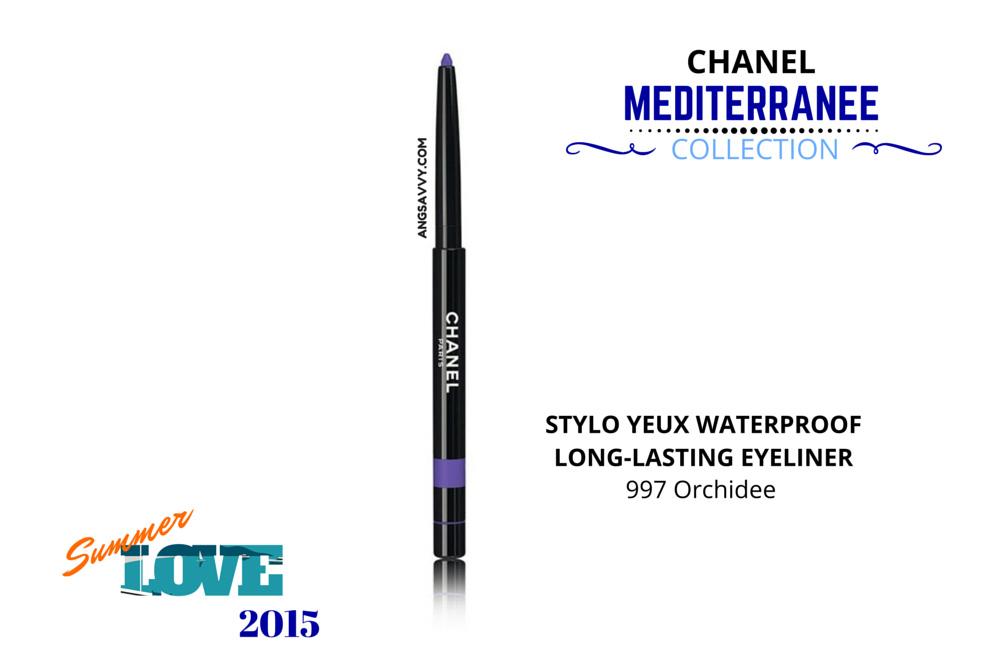 Chanel Summer 2015 Makeup Collection Mediterranee