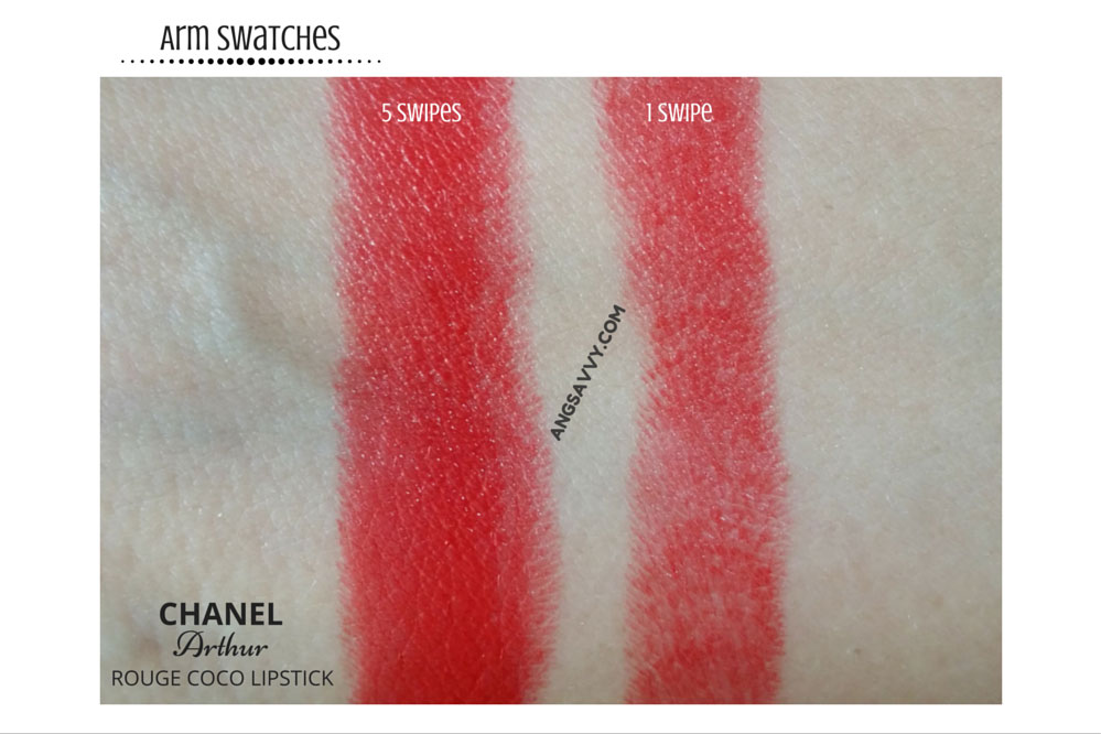 Chanel Arthur Rouge Coco 440 Ultra Hydrating Lipstick Swatches