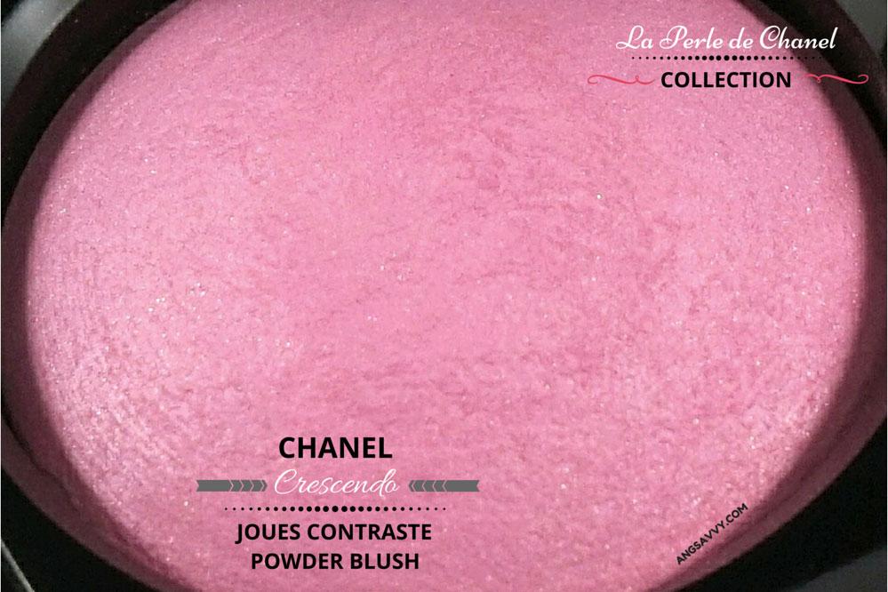 Chanel Crescendo Blush 250 Joues Contraste