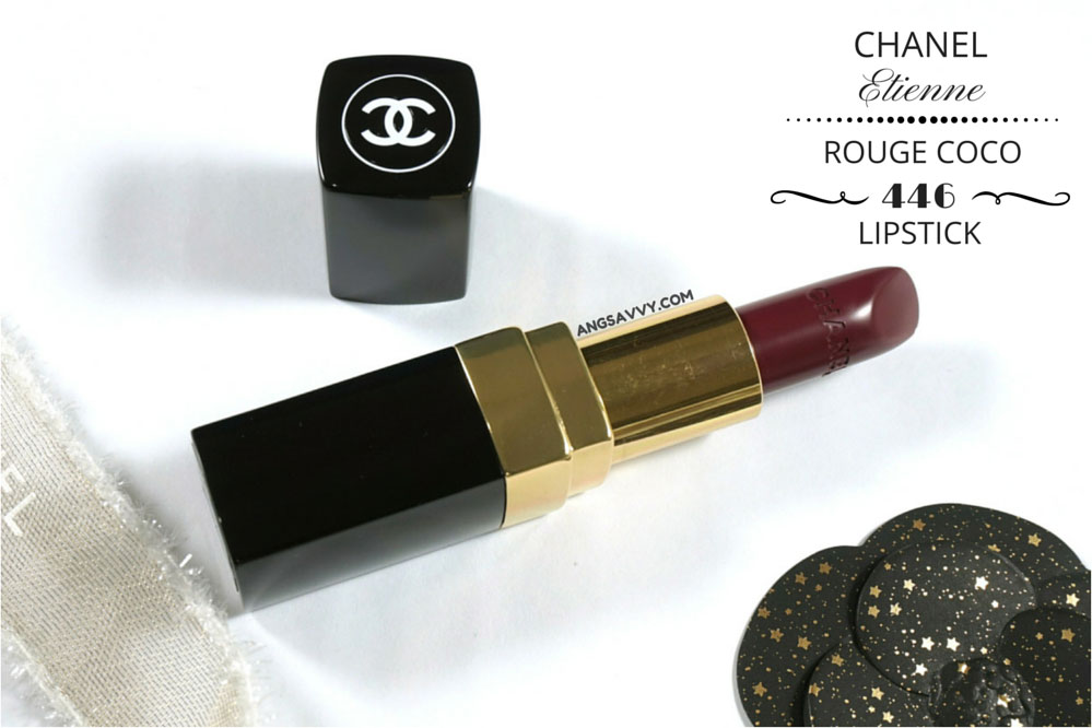 Chanel Etienne Rouge Coco Lipstick 446