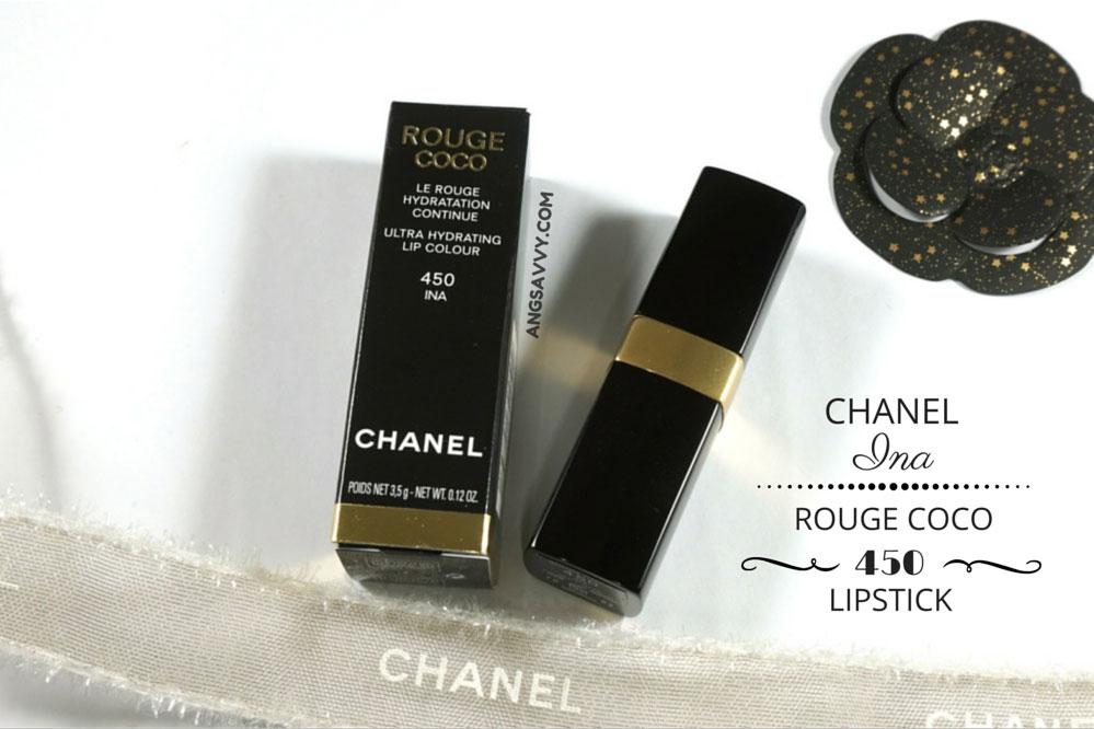 Chanel Ina Rouge Coco 450 Lipstick