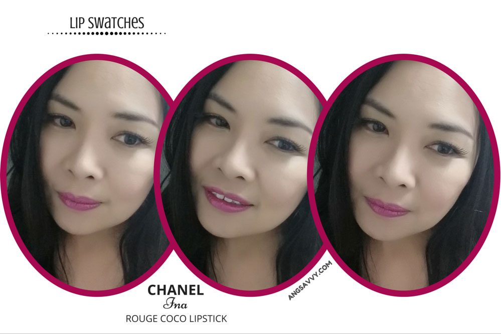 Chanel Ina Rouge Coco 450 Lipstick Lip Swatches