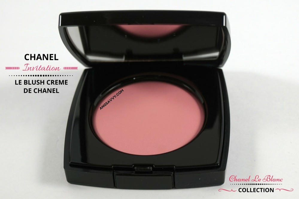 Chanel Le Blush Creme de Chanel 80 Invitation