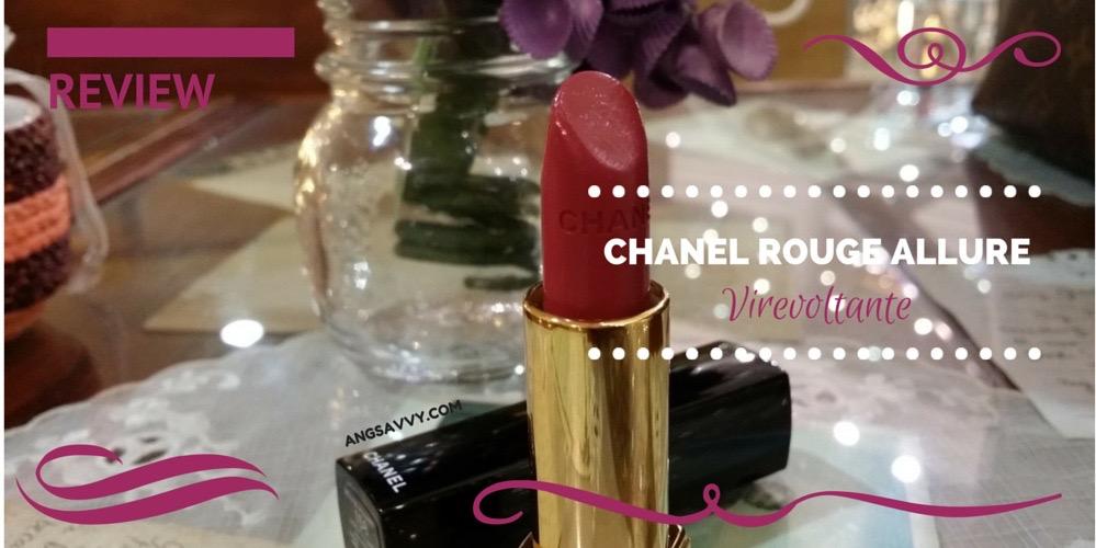 Chanel Rouge Allure 158 Virevoltante (Review)