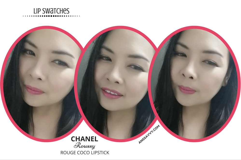 Chanel Roussy Rouge Coco 426 Lipstick Lip Swatches