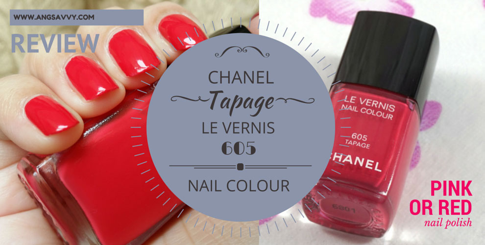 Chanel Tapage Le Vernis (605) Nail Polish Review