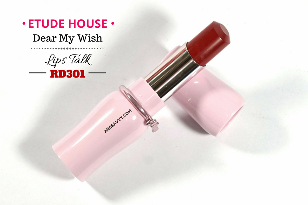 Etude House Dear My Wish Lips Talk RD301