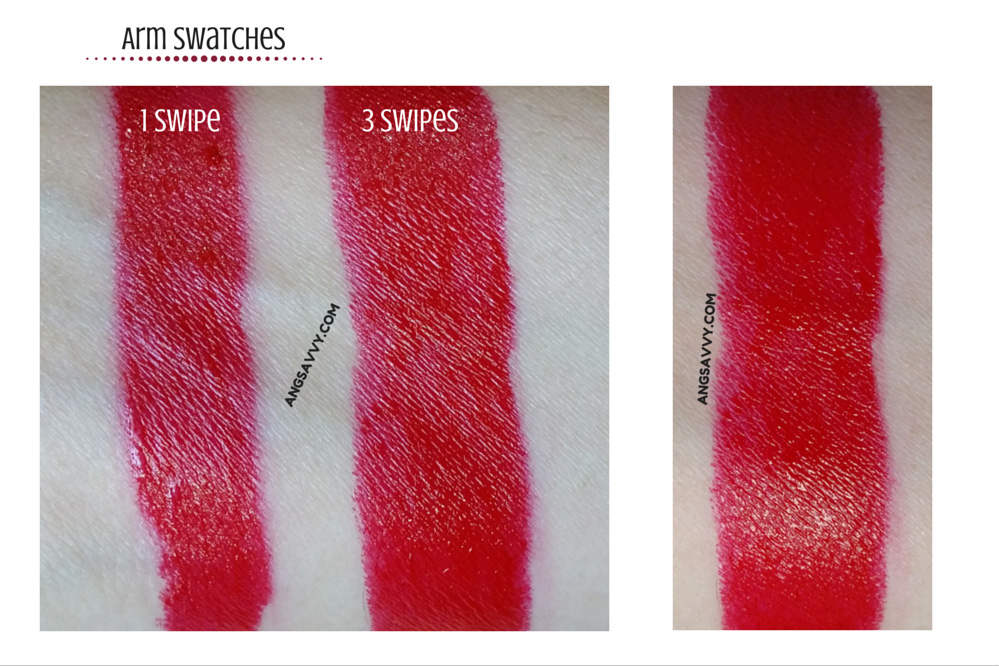 Etude House Dear My Wish Lips Talk RD301 Swatches