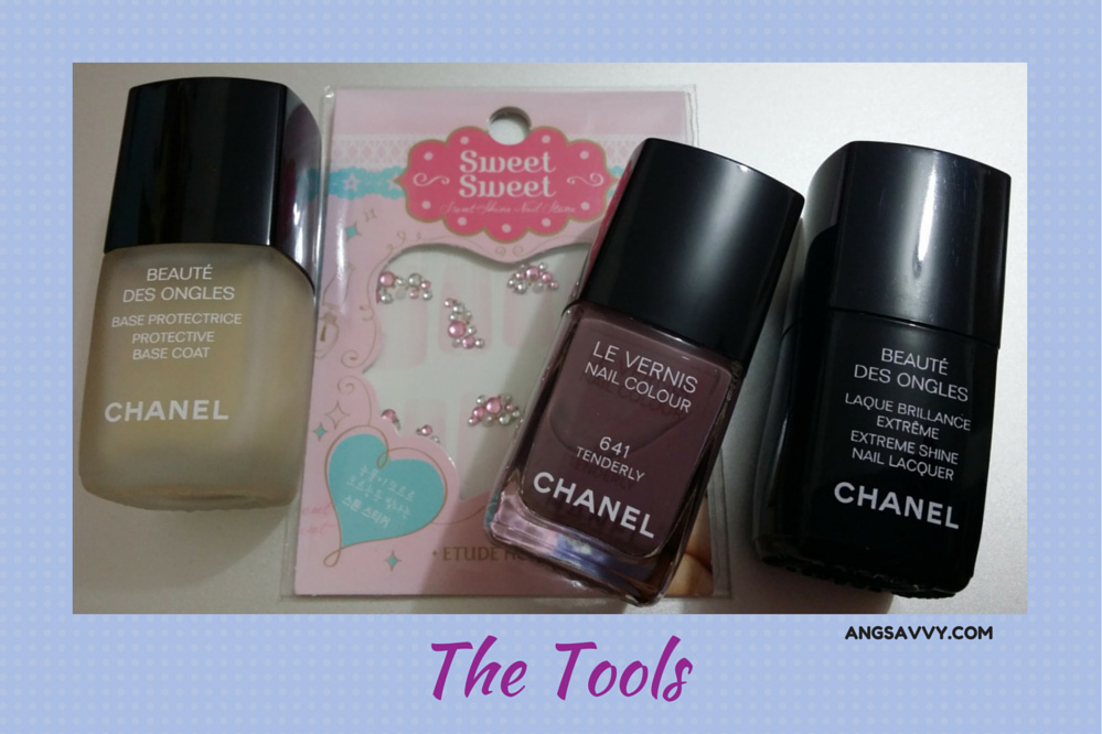 Etude House Sweet Shine Nail Stone