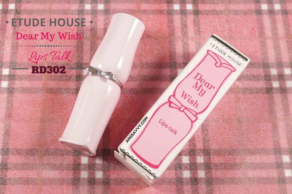 Etude House Dear My Wish Lips Talk RD302