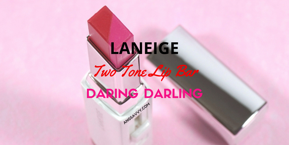 Laneige Two Tone Lip Bar Daring Darling Review