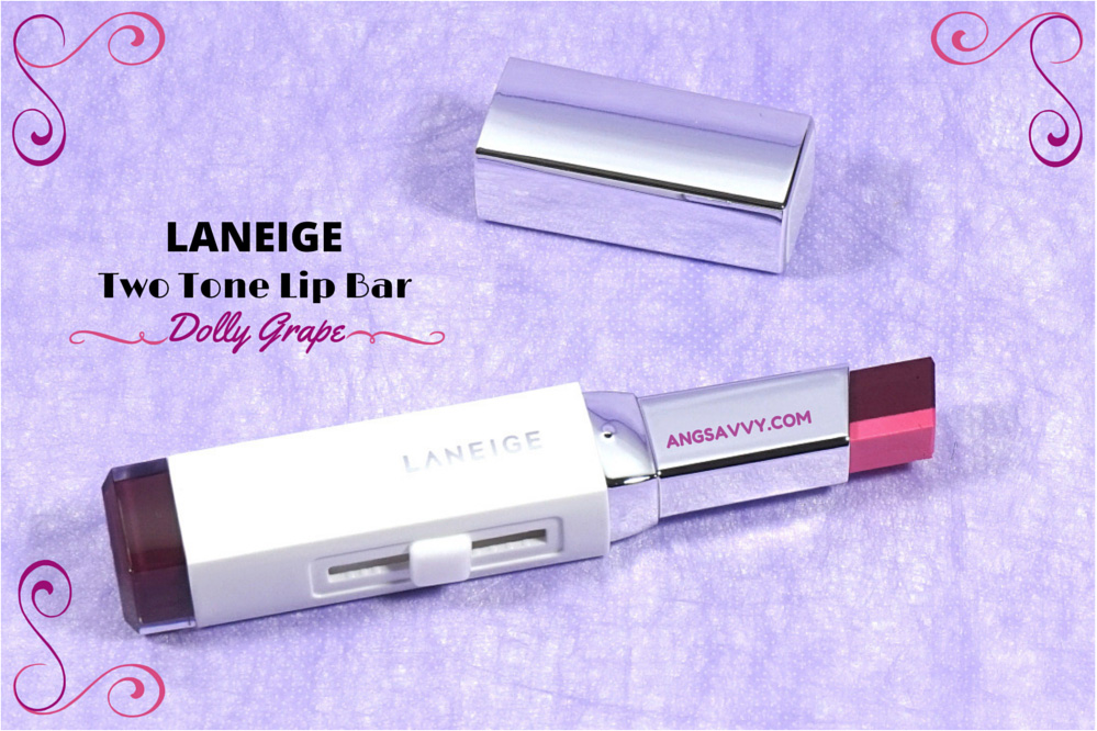 Laneige Two Tone Lip Bar Dolly Grape