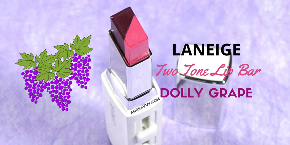 Laneige Two Tone Lip Bar Dolly Grape Review