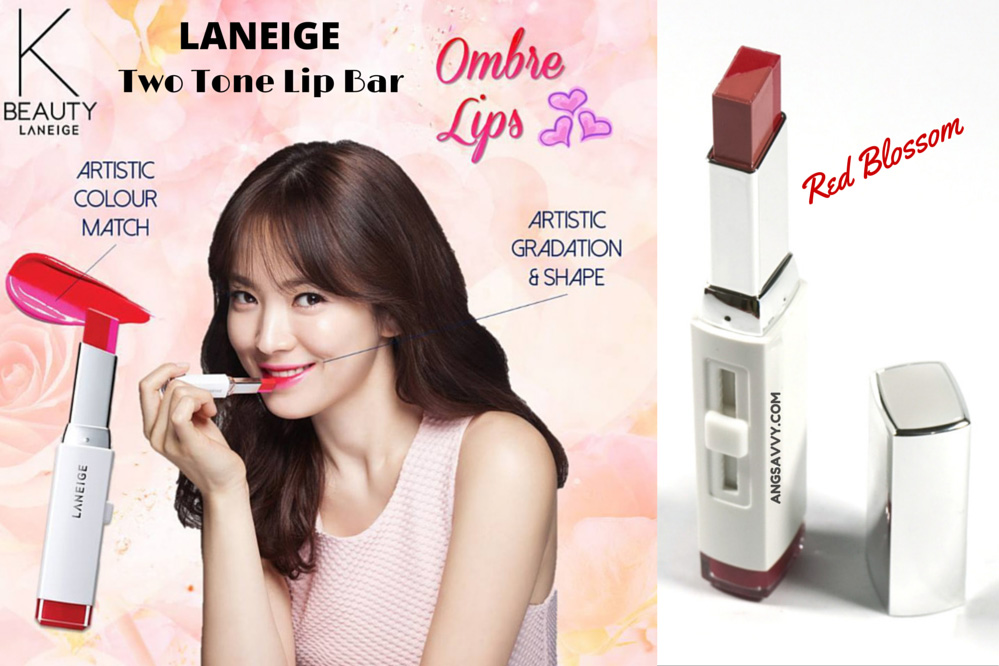Laneige Two Tone Lip Bar Red Blossom (Detailed Review and