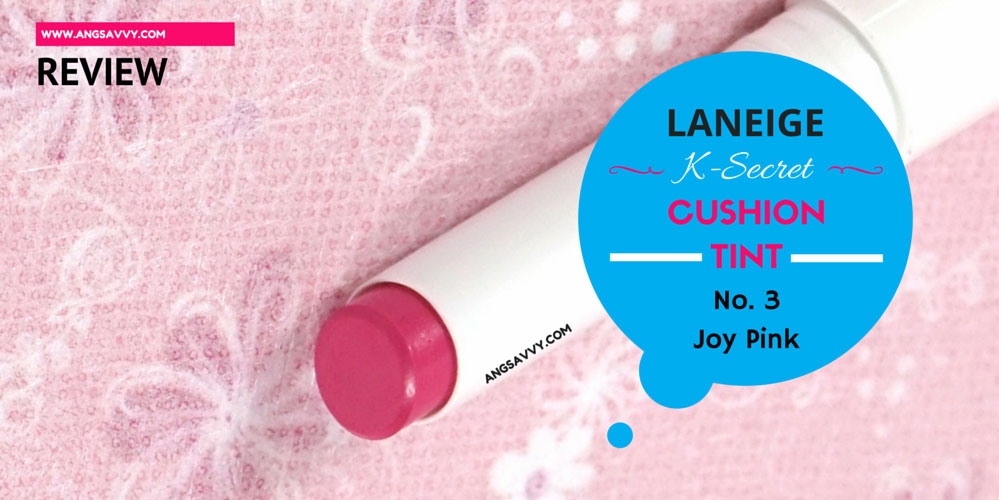 Laneige K-Secret Cushion Tint Joy Pink