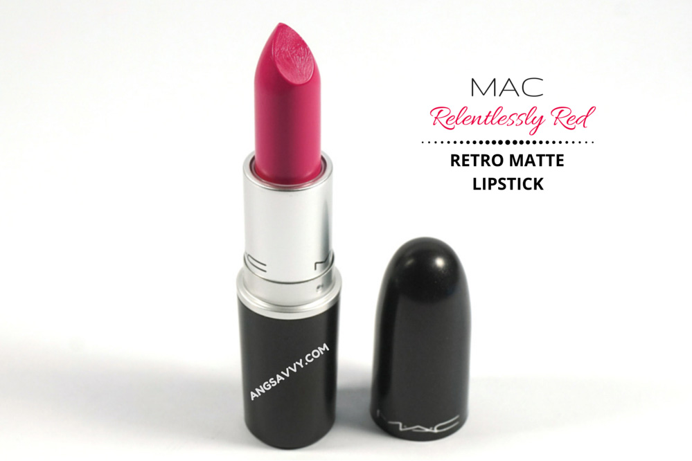 MAC Relentlessly Red Lipstick