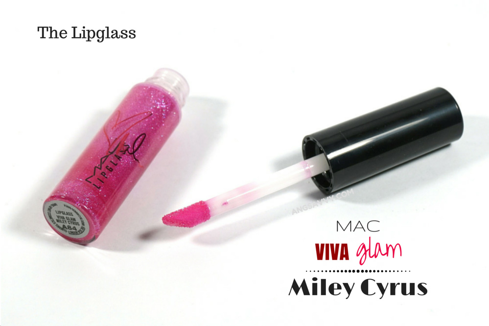 MAC Viva Glam Miley Cyrus Lipstick and Lipglass