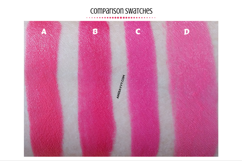 MAC Impassioned Lipstick Swatches