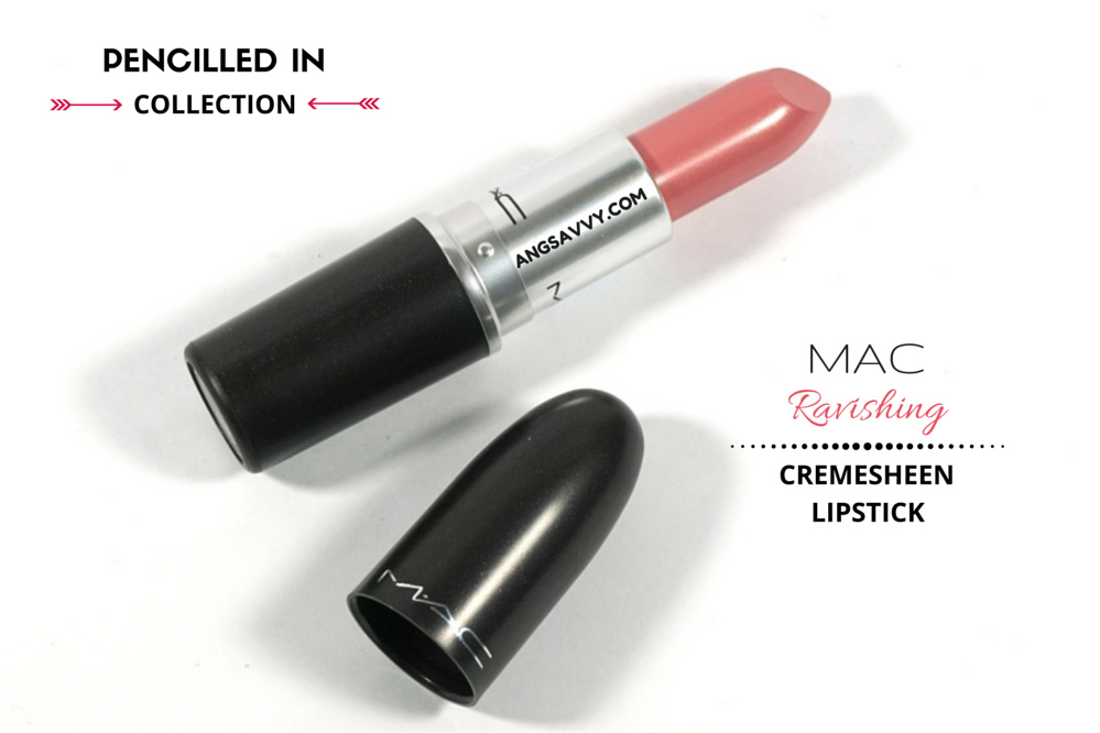 MAC Ravishing Lipstick Cremesheen