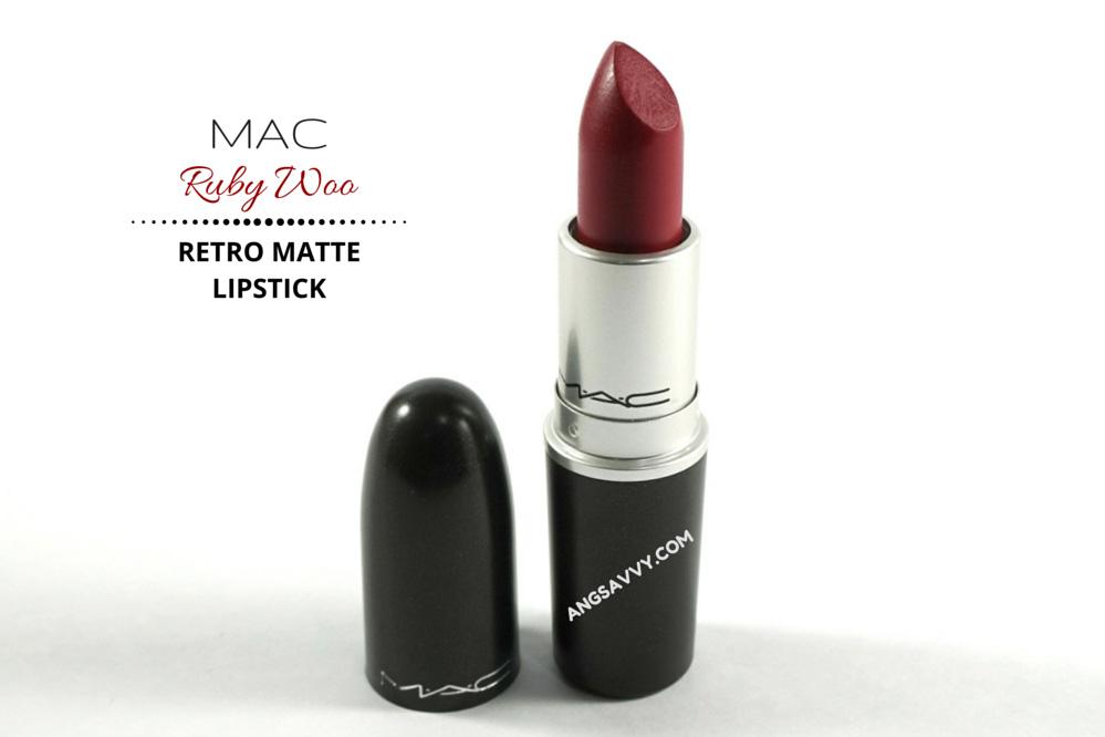 MAC Ruby Woo Lipstick Retro Matte