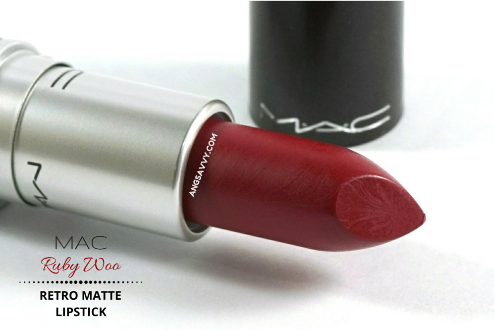 MAC Ruby Woo Lipstick Retro Matte