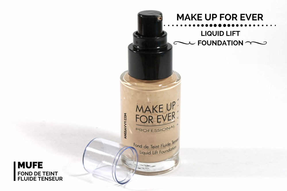 Make Up For Ever Liquid Lift Foundation