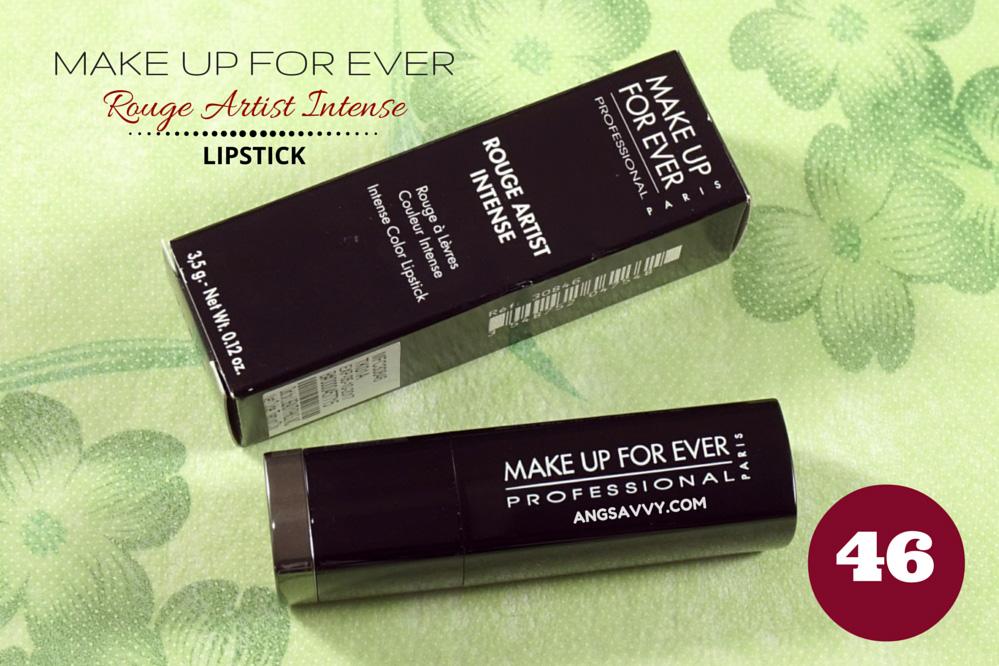 Make Up For Ever Rouge Artist Intense 46 Lipstick