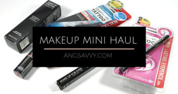 Makeup Haul MUFE NYX Maybelline K-Palette