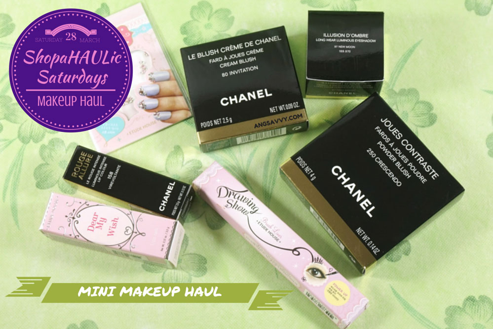Makeup Haul La Perle de Chanel Etude House