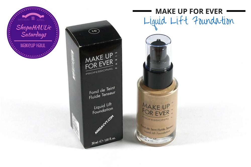 Makeup Haul MUFE Laura Mercier Asian Beauty