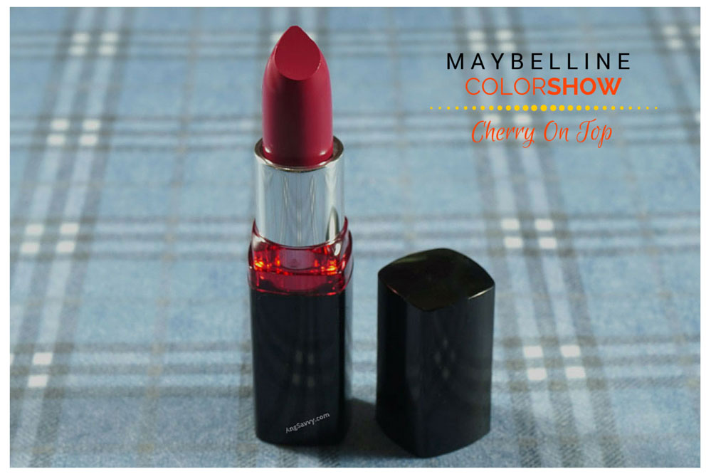 Maybelline Color Show Cherry On Top Listick