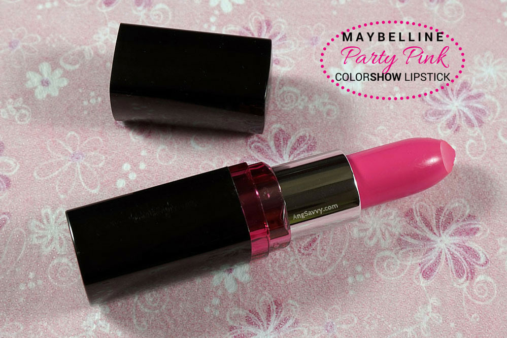 Maybelline Color Show Party Pink Lipstick