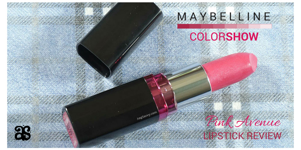 Maybelline Color Show Pink Avenue Lipstick