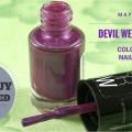 Maybelline Devil Wears Purple Color Show Nail Polish