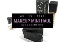 NARS Makeup Mini Haul