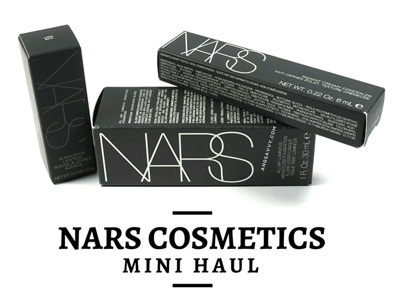 NARS Makeup Mini Haul