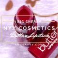 NYX Butter Lipstick Big Cherry BLS19
