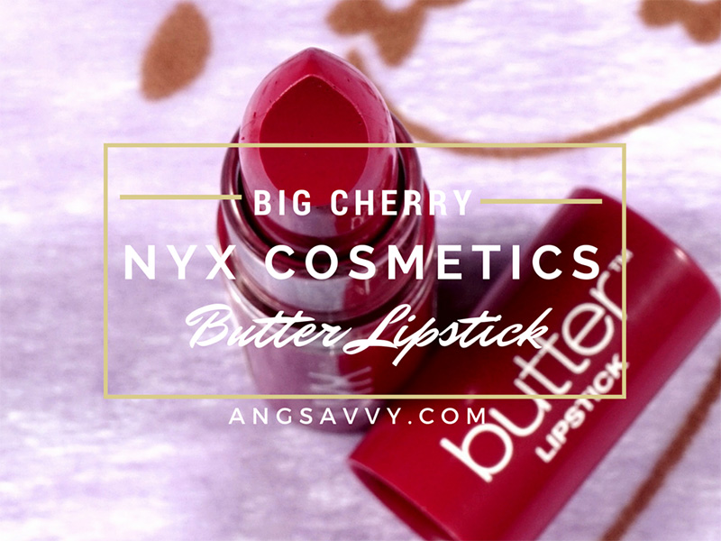NYX Butter Lipstick Big Cherry BLS19