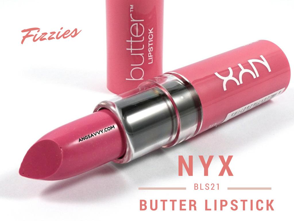 NYX Butter Lipstick Fizzies BLS21