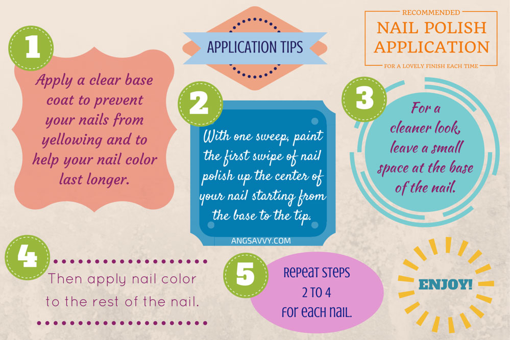 Nail Polish Application Tips