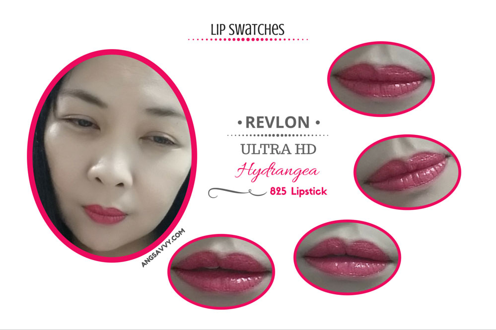 Revlon Ultra HD Lipstick Hydrangea Lip Swatches