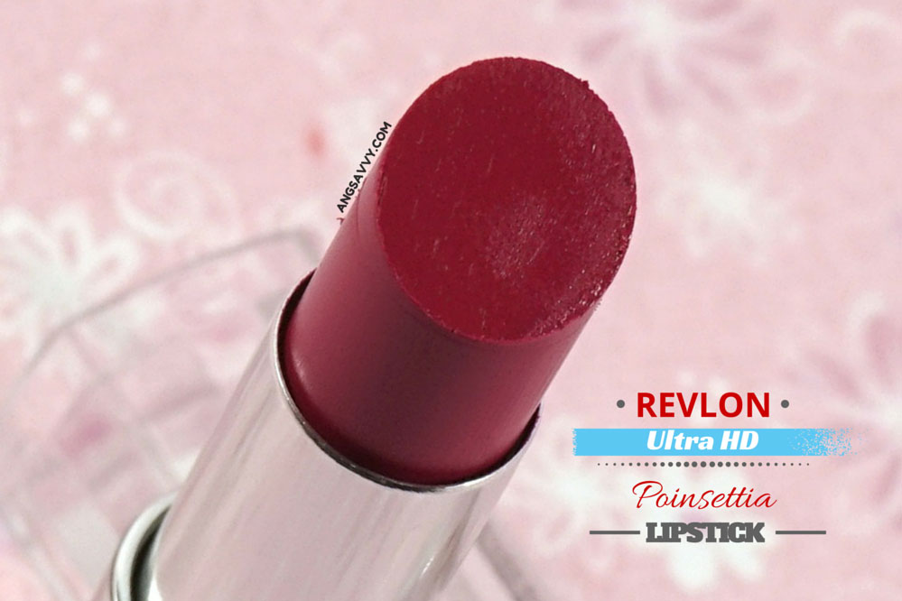 Revlon Ultra HD Lipstick Poinsettia 840