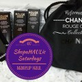 ShopaHAULic Saturdays Makeup Haul Chanel Rouge Coco Collection