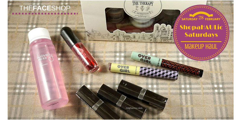 ShopaHAULic Saturdays Makeup Haul The Face Shop